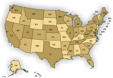 Investment Advisor Map
